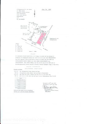 Bare Land for Sale at Ahangama - Galle