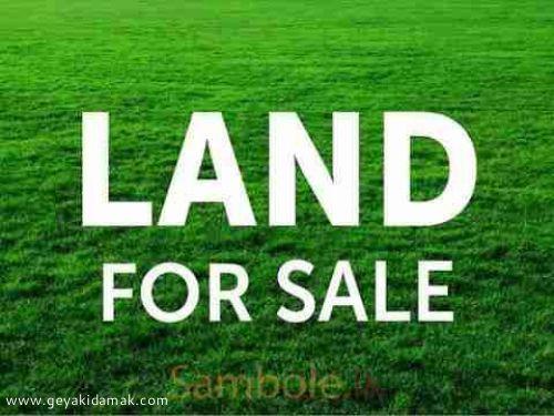 Commercial Land for Sale at Wariyapola - Kurunegala