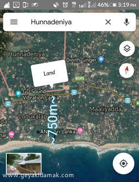 Industrial Land for Sale at Dikwella - Matara